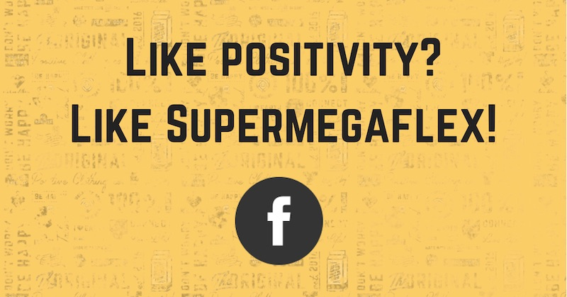 Like Supermegaflex op Facebook